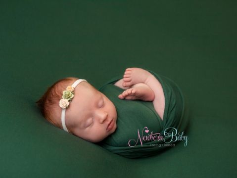 Fine Stretch Backdrops/Beanbag Overlays ~ Dark Green